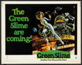 "Movie Posters:Science Fiction, The Green Slime (MGM, 1969). Half Sheet (22"" X 28""). ScienceFiction.. ..."