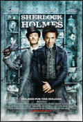 "Movie Posters:Mystery, Sherlock Holmes (Warner Brothers, 2009). One Sheet (27"" X 40"") DS Advance. Mystery.. ..."