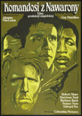"Movie Posters:War, Force 10 from Navarone (Columbia, 1982). Polish B1(26.5"" X 37.5"").War.. ..."