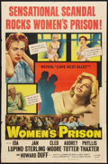"""Movie Posters:Crime, Women's Prison (Columbia, 1954). One Sheet (27"""" X 41""""). Crime.. ..."""