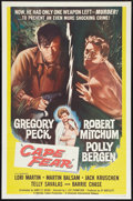 """Movie Posters:Thriller, Cape Fear (Universal, 1962). One Sheet (27"""" X 41""""). Thriller.. ..."""