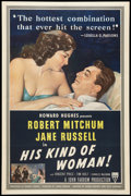 """Movie Posters:Crime, His Kind of Woman (RKO, 1951). One Sheet (27"""" X 41""""). Crime.. ..."""