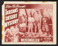 "Movie Posters:Adventure, Tarzan's Desert Mystery (RKO, R-1949). Lobby Cards (5) (11"" X 14"").Adventure.. ... (Total: 5 Items)"