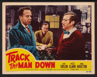 """Track the Man Down (Republic, 1955). Lobby Cards (7) (11"""" X 14""""). Crime. ... (Total: 7 Items)"""