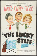 """Movie Posters:Comedy, The Lucky Stiff (United Artists, 1949). One Sheet (27"""" X 41""""). Comedy.. ..."""