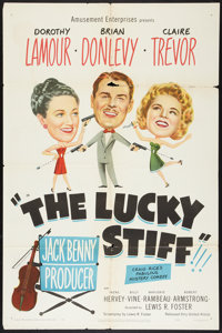 """The Lucky Stiff (United Artists, 1949). One Sheet (27"""" X 41""""). Comedy"""