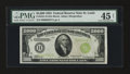 Small Size:Federal Reserve Notes, Fr. 2221-H $5000 1934 Federal Reserve Note. PMG Choice Extremely Fine 45 Net.. ...