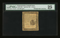 Colonial Notes:Pennsylvania, Pennsylvania April 20, 1781 6d PMG Very Fine 25....