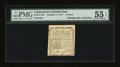 Colonial Notes:Connecticut, Connecticut October 11, 1777 3d Printed on Scarce White Paper PMGAbout Uncirculated 55 EPQ....