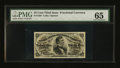 Fractional Currency:Third Issue, Fr. 1294 25¢ Third Issue PMG Gem Uncirculated 65 EPQ....