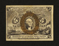 Fractional Currency:Second Issue, Fr. 1234 5¢ Second Issue Choice About New....