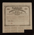Confederate Notes:Group Lots, Ball 265 Cr. 130A $1000 Bond 1863 Very Fine.. ...