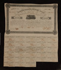 Confederate Notes:Group Lots, Ball 121 Cr. 99 $1000 Bond 1861 Very Fine.. ...