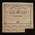 Confederate Notes:Group Lots, Ball C240A Cr. X-122B $1000 Counterfeit Bond 1863 Very Fine. . ...