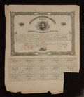 Confederate Notes:Group Lots, Ball 54 Cr. 29 $100 Bond 1861 Fine.. ...