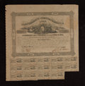 Confederate Notes:Group Lots, Ball 148 Cr. 111 $500 1862 Bond Very Fine. . ...