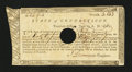 Colonial Notes:Connecticut, Connecticut Treasury Office June 1, 1782. Extremely Fine....