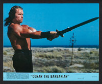"""Conan the Barbarian (Universal, 1982). Mini Lobby Card Set of 8 (8"""" X 10""""). Action. ... (Total: 8 Items)"""