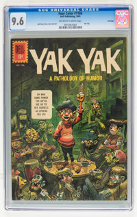 Four Color #1186 Yak Yak - File Copy (Dell, 1961) CGC NM+ 9.6 Off-white to white pages