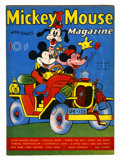 Platinum Age (1897-1937):Miscellaneous, Mickey Mouse Magazine V2#11 (K. K. Publications/ Western PublishingCo., 1937) Condition: VG....