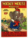 Platinum Age (1897-1937):Miscellaneous, Mickey Mouse Magazine V2#9 (K. K. Publications/ Western PublishingCo., 1937) Condition: VG....