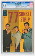 Silver Age (1956-1969):Adventure, Four Color #1263 77 Sunset Strip - File Copy (Dell, 1961) CGC NM+ 9.6 Off-white to white pages....