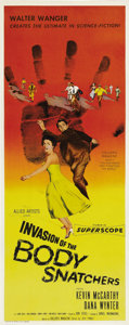 "Movie Posters:Science Fiction, Invasion of the Body Snatchers (Allied Artists, 1956). Insert (14""X 36""). In one of the most popular science fiction films ..."