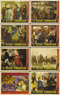 "Movie Posters:Western, Dark Command (Republic, 1940). Lobby Card Set of 8 (11"" X 14"").John Wayne and Claire Trevor star in this Civil War drama ba...(Total: 8 Items)"