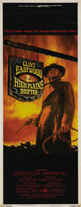 """Movie Posters:Western, High Plains Drifter (Universal, 1974). Insert (14"""" X 36""""). A dark Western classic with Clint Eastwood as a mysterious drifte..."""