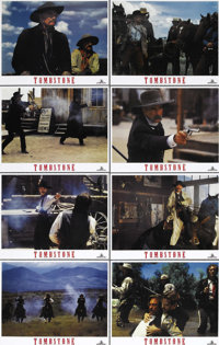 "Tombstone (Buena Vista, 1993). Lobby Card Set of 8 (11"" X 14""). Kurt Russell stars in the story of the Earps..."