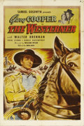 "Movie Posters:Western, The Westerner (United Artists, 1940). One Sheet (27"" X 41""). As ayoung America expanded west, ranchers and homesteaders oft..."