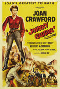 "Movie Posters:Western, Johnny Guitar (Republic, 1954). One Sheet (27"" X 41""). NicholasRay, one of Hollywood's most admired non-conformist director..."
