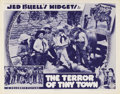 "Movie Posters:Western, The Terror of Tiny Town (Columbia, 1937). Lobby Card (11"" X 14"").The plot of this film reads like any other grade B, or C, ..."