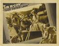 "Movie Posters:Western, Two Fisted Law (Columbia, 1932). Lobby Card (11"" X 14""). William Colt MacDonald, who would later create ""The Three Mesquetee..."