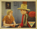 "Movie Posters:Western, Rainbow Valley (Monogram, 1935). Lobby Card (11"" X 14""). The story is told that, right about the time that John Wayne's old ..."