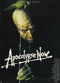 "Movie Posters:War, Apocalypse Now (United Artists, 1979). German Poster (23.5"" X 33"").Francis Ford Coppola based this masterpiece on Joseph Co..."