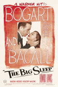 "Movie Posters:Crime, The Big Sleep (Warner Brothers, 1946). One Sheet (27"" X 41""). This was the second film featuring the classic teaming of Boga..."