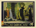 "Movie Posters:Horror, The Old Dark House (Universal, 1932). Lobby Card (11"" X 14""). Inone of the most desirable cards from the set, this rare sce..."