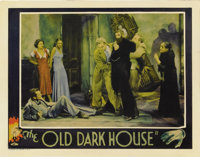 "The Old Dark House (Universal, 1932). Lobby Card (11"" X 14""). In one of the most desirable cards from the set..."
