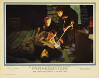 """Frankenstein (Universal, 1931). Lobby Card (11"""" X 14""""). Offered in this lot is a classic card which depicts Dr..."""