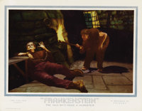 "Frankenstein (Universal, 1931). Lobby Card (11"" X 14""). Released shortly after Todd Browning's unexpectedly su..."
