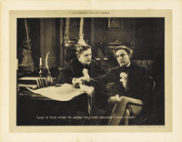 "Dr. Jekyll and Mr. Hyde (Paramount, 1920). Lobby Card (11"" X 14""). Although Robert Louis Stevenson's classic n..."