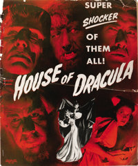 House of Dracula (Universal, 1945). Pressbook (17 Pages). This wonderful pressbook from Universal's all-star horror extr...