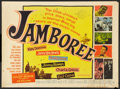 "Movie Posters:Rock and Roll, Jamboree (Warner Brothers, 1957). Half Sheet (22"" X 28""). Rock and Roll.. ..."