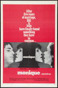 "Movie Posters:Sexploitation, Monique (Avco Embassy, 1970). One Sheet (27"" X 41"").Sexploitation.. ..."