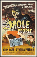"""Movie Posters:Science Fiction, The Mole People (Universal International, 1956). One Sheet (27"""" X41""""). Science Fiction.. ..."""