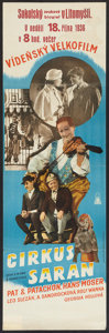 "Movie Posters:Musical, The Circus Lot (Praha-Pariz, 1936). Czech Posters (2) (12"" X 28"" and 11.75"" X 37.25""). Musical.. ... (Total: 2 Items)"