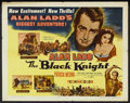 "Movie Posters:Adventure, The Black Knight (Columbia, 1954). Half Sheet (22"" X 28"") Style A.Adventure.. ..."