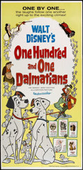 "Movie Posters:Animated, 101 Dalmatians (Buena Vista, 1961). Three Sheet (41"" X 81"").Animated.. ..."