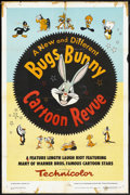 "Movie Posters:Animated, Bugs Bunny Cartoon Revue (Warner Brothers, 1953). One Sheet (27"" X41""). Animated.. ..."